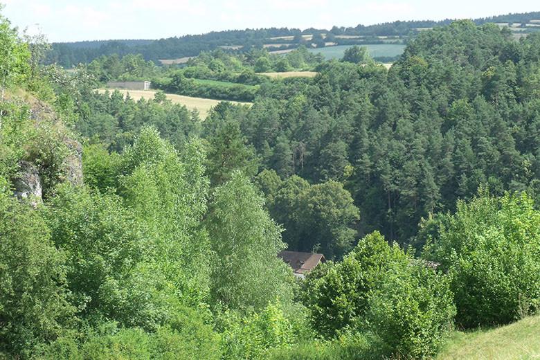 Jagdzentrum Oberfranken - Aussicht der Schulungsräume