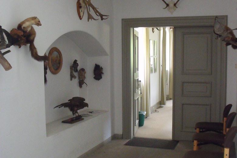 Jagdschein - Eingangsbereich Schulungsraum