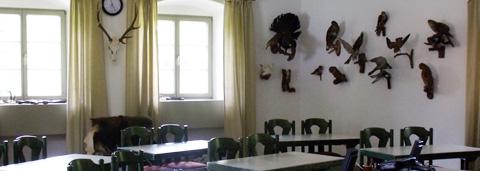 Schulungsraum Jagdschule